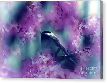 Spring Rhapsody Blossoms Canvas Print by Cathy  Beharriell