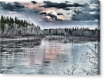 Spring River Canvas Print by Lisa Killins