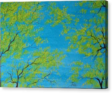 Spring Sky Canvas Print