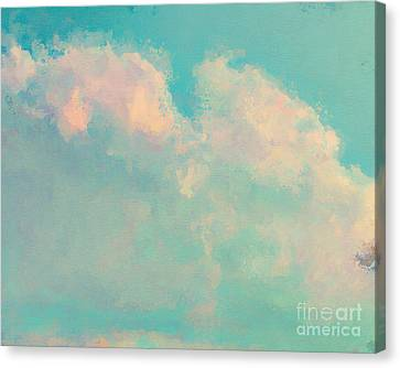 One Of A Kind Canvas Print - Spring Sky by Lonnie Christopher