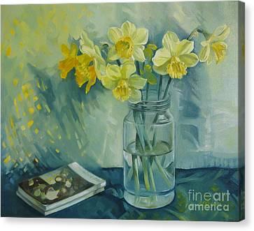 Spring Smile Canvas Print