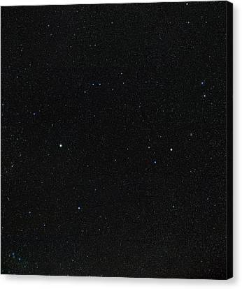 Spring Stars Without Light Pollution Canvas Print by Eckhard Slawik