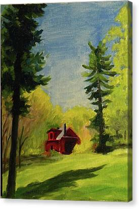 Spring Stony Point Park Canvas Print