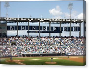 Spring Training Canvas Print