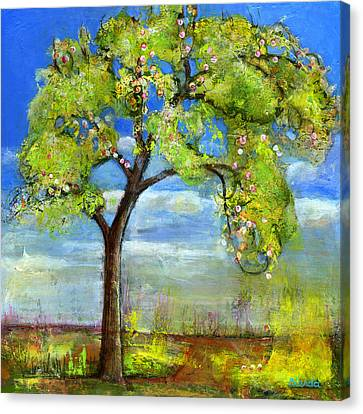 Spring Tree Art Canvas Print