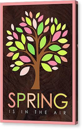 Spring Tree Canvas Print by Tammy Apple
