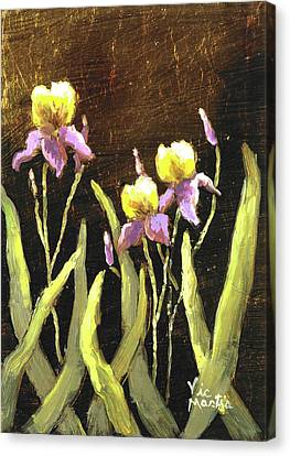 Canvas Print featuring the painting Spring Wonder by Vic  Mastis