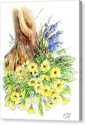 Spring Woodland  Canvas Print