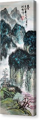 Spring  Canvas Print by Yufeng Wang