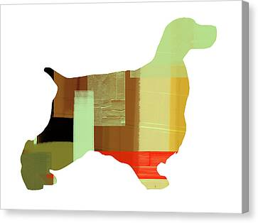 Springer Spaniel  Canvas Print by Naxart Studio