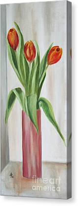 Springflowers Canvas Print by Christiane Schulze Art And Photography