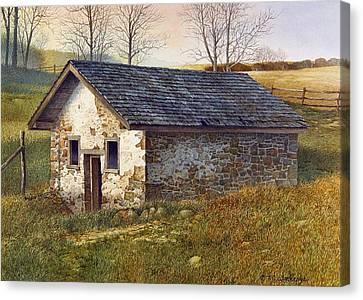 Springhouse Canvas Print