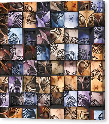 Fun Canvas Print - Springs And Squares by Scott Norris