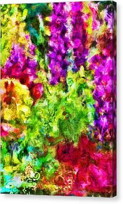 Beauty Mark Canvas Print - Springs Embrace by Jo-Anne Gazo-McKim