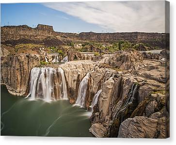 Springs Last Rush Canvas Print by James Heckt