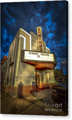 Springs Theater Co Canvas Print by Marvin Spates