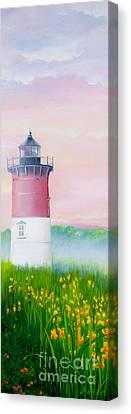Springtime At Nauset Light Beach Canvas Print by Michelle Wiarda
