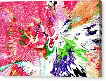 Springtime Canvas Print by Linda Cox