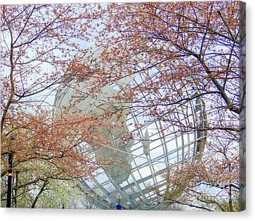 Springtime Round The World Canvas Print by Ed Weidman