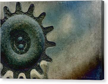 Sprocket Canvas Print by WB Johnston