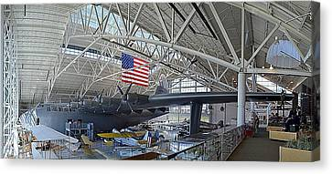 Spruce Goose Canvas Print by Michelle Calkins