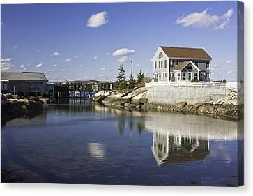 Spruce Head On The Coast Of Maine Canvas Print by Keith Webber Jr