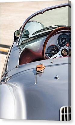 Spyder Cockpit Canvas Print by Peter Tellone