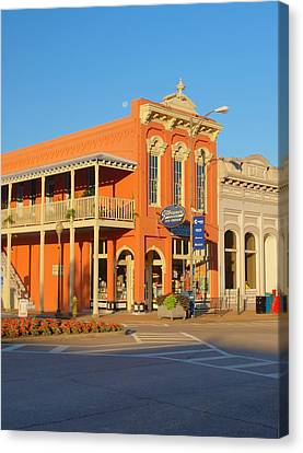 Square Books Oxford Mississippi Canvas Print by Joshua House
