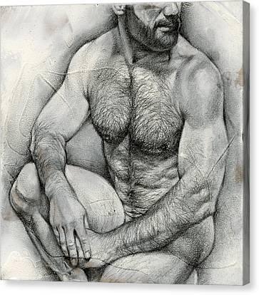 Square Composition 2 Canvas Print by Chris Lopez