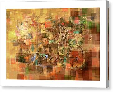 Square Symphony Canvas Print by Craig Tinder