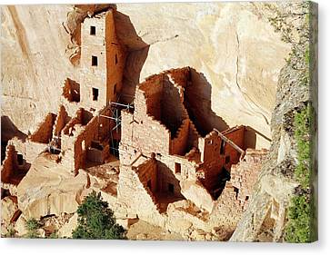 Square Tower House Canvas Print by Michael Szoenyi