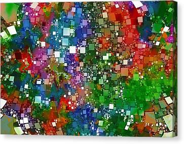 Square Universe 2 Canvas Print by Steve K