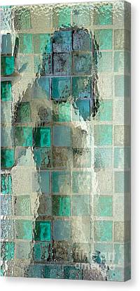 Squared Away 7 Canvas Print by Jeff Breiman