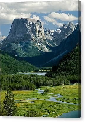 Squaretop Mountain 3 Canvas Print