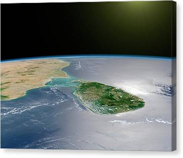 Sri Lanka Canvas Print by Nasa