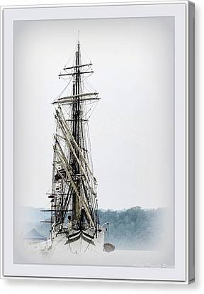 Ss Sorlandet Norwegian Tallship Canvas Print by Danielle  Parent