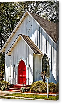 St. Alban's Episcopal Canvas Print by Linda Brown