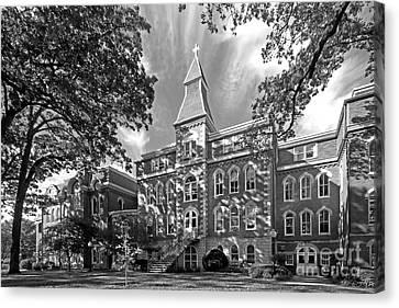 St. Ambrose University Ambrose Hall Canvas Print by University Icons