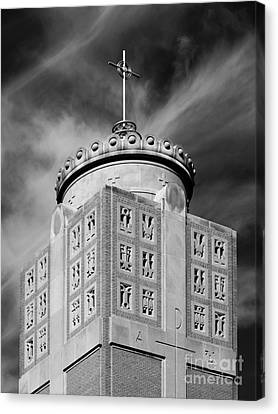 St. Ambrose University Christ The King Chapel Canvas Print