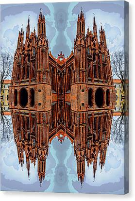 St. Anne's Church Art Canvas Print by Yevgeni Kacnelson