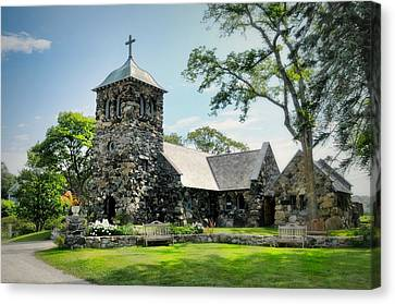 St. Ann's Episcopal Church Canvas Print by Diana Angstadt