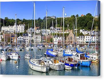 St Aubin - Jersey Canvas Print
