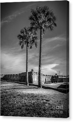 St. Augustine Fort Canvas Print