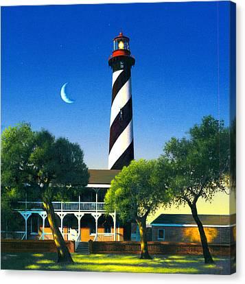 St Augustine Canvas Print by MGL Studio - Chris Hiett