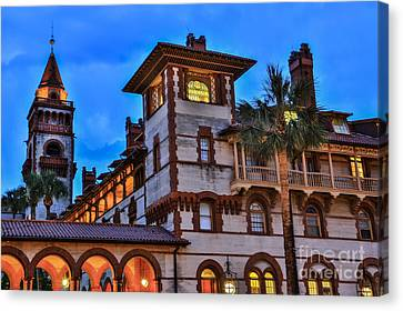 Canvas Print featuring the photograph St. Augustine's View by Paula Porterfield-Izzo
