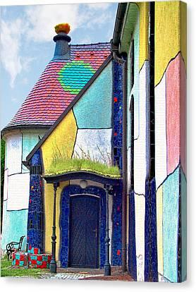 St Barbara Church - Baernbach Austria Canvas Print