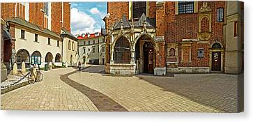 St Barbara Canvas Print - St. Barbaras Church At St. Marys by Panoramic Images