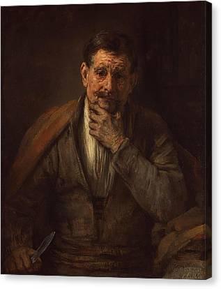 Getty Canvas Print - St. Bartholomew by Rembrandt van Rijn
