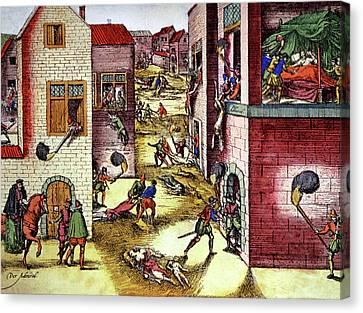 St Bartholomew's Day Massacre Canvas Print