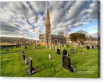 St Beuno Church Canvas Print by Adrian Evans